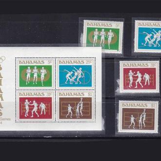 ЛОИ . Багамы 1984 г MNH -