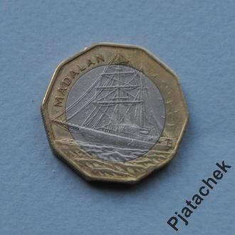 Кабо-Верде монета 100 эскудо 1994 корабль парусник п 10