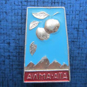 Значок Алма-Ата
