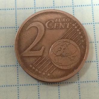 ЛИТВА, 2 евроцента 2015