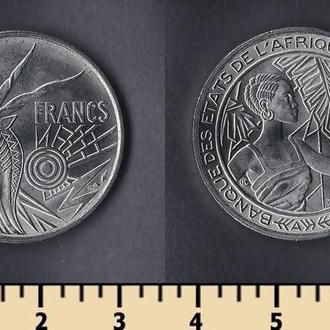 Центрально-Африканские штаты 500 франков 1976
