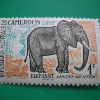 Камерун 1962 Животные  MNH Люкс!
