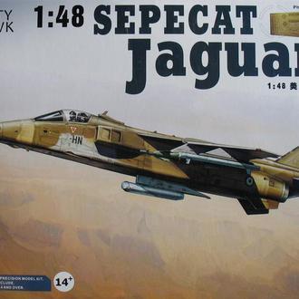 Сборная модель самолета Jaguar A 1:48 Kitty Hawk