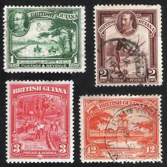 Британская Гвиана (1934) Местные виды