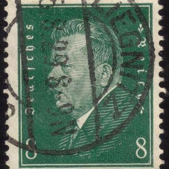 1928 Friedrich Ebert 370 A60 8pf dark greenr