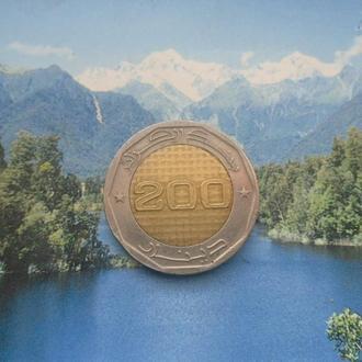 Алжир 200 динар 2012 года