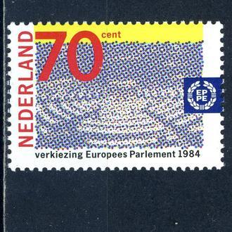 Нидерланды. Европарламент (серия)** 1984 г.