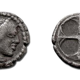 (А)2326 - СИЦИЛИЯ. Сиракузы (485—466 до н.э.) AR Литра