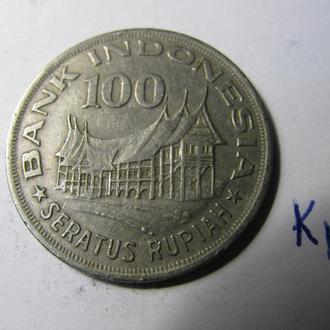 100 Рупій Сто Рупий Індонезія Индонезия 1978 рік