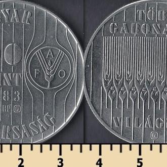 Венгрия 100 форинтов 1983