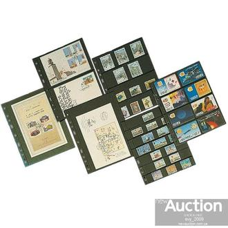 Лист OPTIMA для марок на 3 (*2) строки 180 x 77 mm (10 шт)