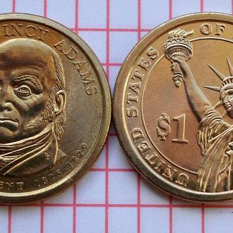 1 доллар 6-ой президент США Д.Куинси Адамс 2008 г