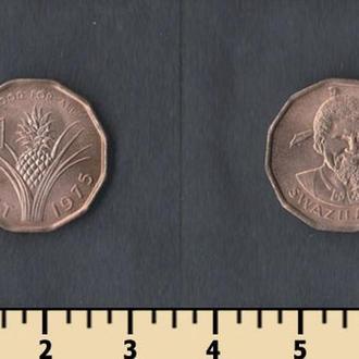 Свазиленд 1 цент 1975