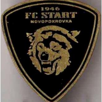 значок футбол - ФК Старт Новопокровка Днепропетровская обл. Украина