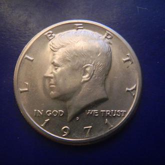 США 1/2 доллара 1971 D