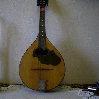 Старинная мандолина 1954г