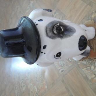 фарфоровая статуэтка-собака