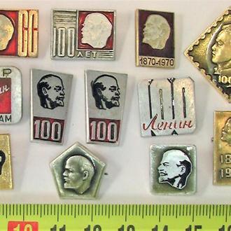 Значки 12 штук СССР разные Лот А 197