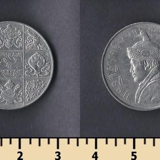 Бутан 1/2 рупии 1955-1968