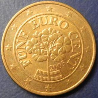 5 євроцентів 2003 Австрія