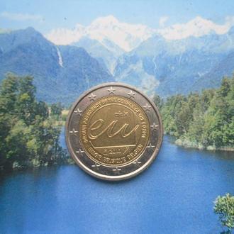 Бельгия 2 евро 2010 г. Представительство Бельгии в ЕС