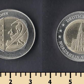 Германия 2 евро (проба)
