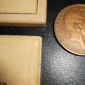 Медаль А.Гитлер 1938 год.