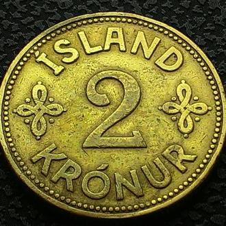 Исландия 2 кроны 1940 год СОХРАН!!!