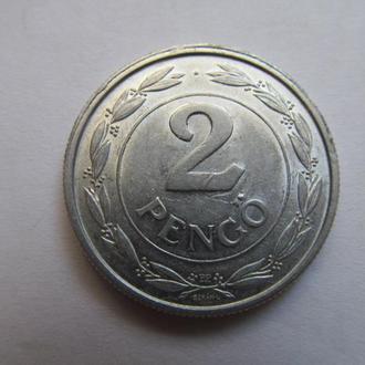 Венгрия  2  пенго  1943  год