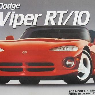 Сборная модель автомобиля Dodge   Viper RT/10   1:25 AMT
