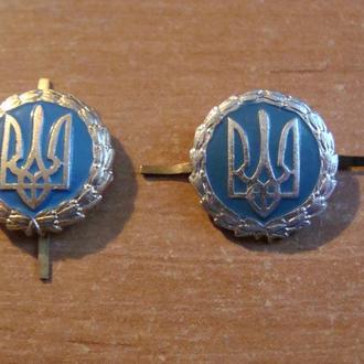 Эмблема   МВД Украины (2 шт) милиция
