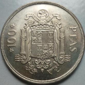 Испания 100 песет 1975 состояние в коллекцию