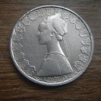 Италия 500 лир 1960 серебро (D3/5)