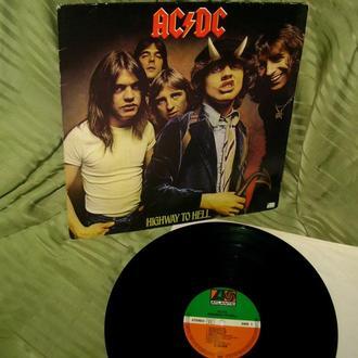 AC / DC  HIGHWAY TO HELL  1979  Atlantic GEMA   Ex ++ / ~ NM