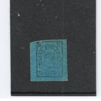 Земство. Демянск Шм №1І   1878 год.
