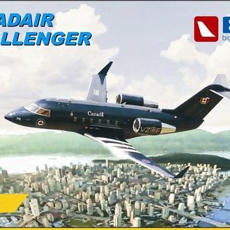 BPK - 7209 - Canadair Challenger - 1:72