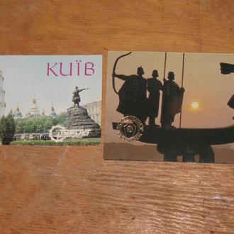Календарик Киев 11 штук.