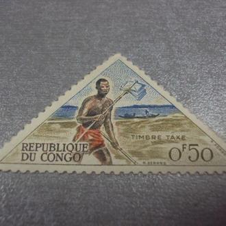 марка Конго почта №245