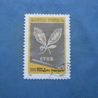 Венгрия 1982 год