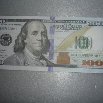 100 долларов сша сувенир