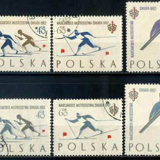 Польша. Зимний спорт (2 серии) 1962 г.