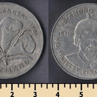 Свазиленд 2 эмалангени 1981
