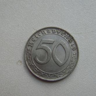 Монета reichspfenning 1939 D