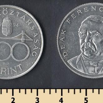 Венгрия 200 форинтов 1994