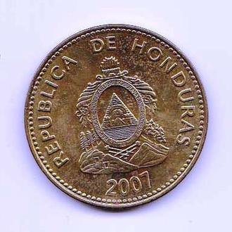 Гондурас  2007  г - 10 сентавос - 2а скана