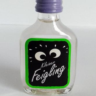 Коллекционная алкоминиатюра бутылочка Feigling, 20 ml, Германия