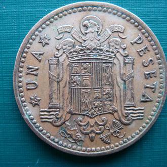 Испания 1 песета 1966