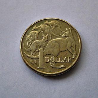 Австралия 1 австралийский доллар 2010 г. Кенгуру. Елизавета II.