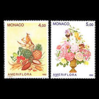 Монако 1992 Цветы