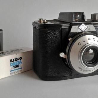 Фотоаппарат средний формат Agfa Clack, 1954-65, West Germany